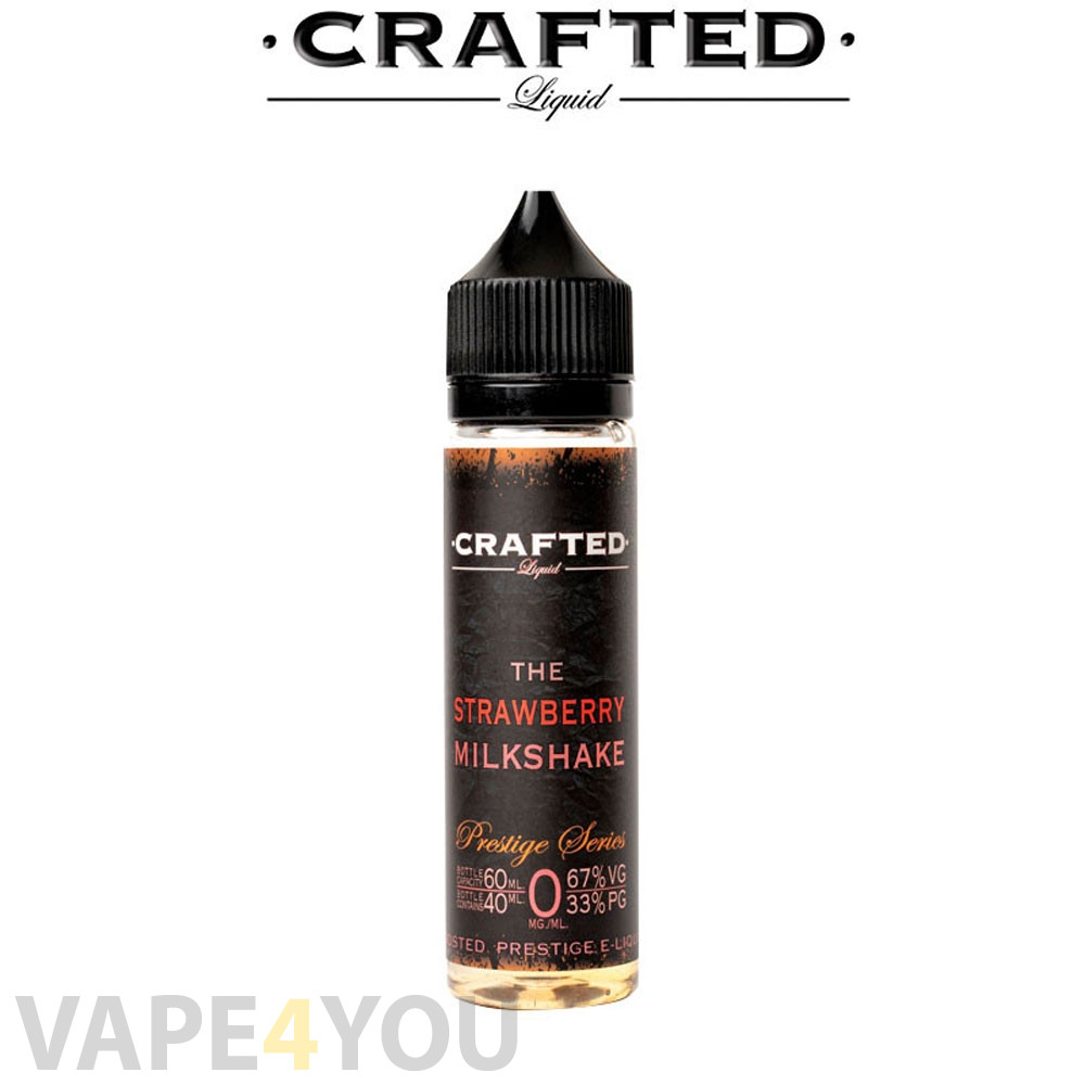 Crafted Prestige Series Strawberry Milkshake - 40ml