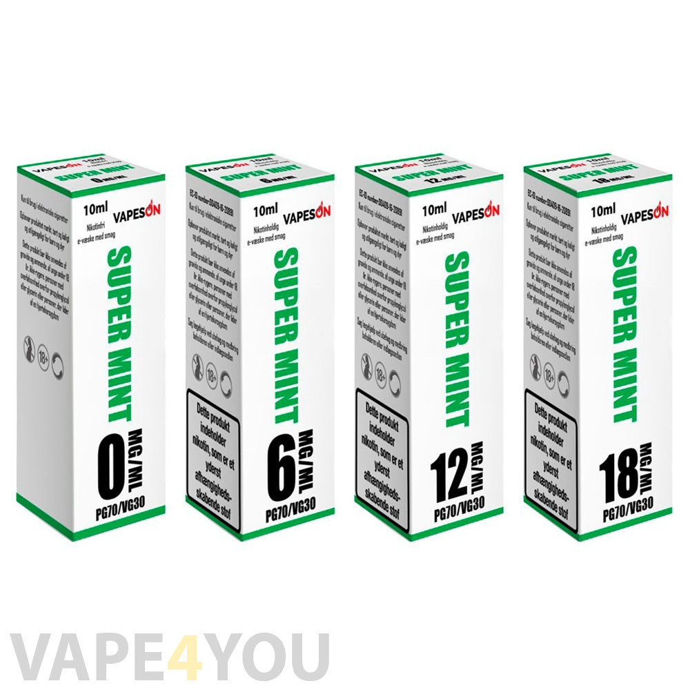 Super Mint E-juice
