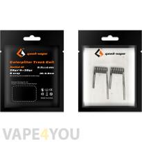 GeekVape 2 x Prebuilt Caterpillar Track Coils SS316L